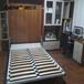 德尼尔书房家具定做新中式式书桌书柜组合效果图定制榻榻米