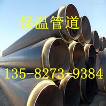 热力管道直埋聚氨酯保温管厂家图片