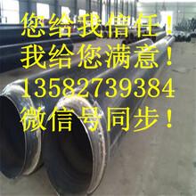 小区供热用聚氨酯直埋保温钢管厂家