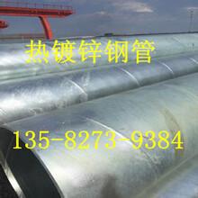 热镀锌螺旋钢管生产厂家简报