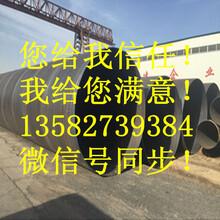双面埋弧焊Q235B螺旋钢管厂家