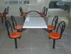 四人位仿麦式餐桌椅桌面规格深圳餐桌椅厂家