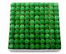 台球配件台球杆枪头9mm10mm台球杆套头红绿龙塑料杆