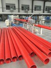 湖北PE管价格湖北PE管材生产厂家PVC电力管湖北楚都泰塑公司图片