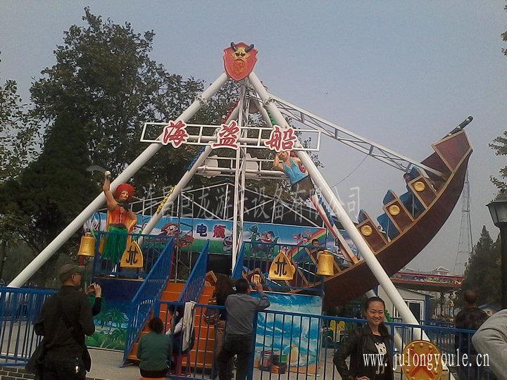 大型户外游乐设施生产厂家巨龙10座儿童海盗船