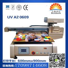 全自动玻璃移门雕刻印花机理光UV万能打印机