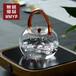 无铭优品厂家直销水壶提梁加厚耐高温玻璃手工煮茶具