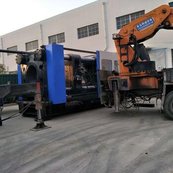 青岛数控加工中心,各种机床、各种机械设备搬迁就位、起重吊装