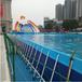 厂家直销大型支架水池支架游泳池充气水上乐园设备室外儿童成人游乐园可定制大小