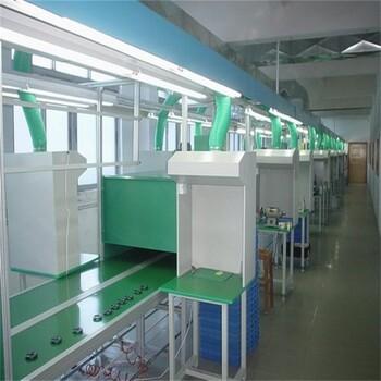 广州厂家直销供应电子厂生产线流水线电子装配流水线工业皮带线