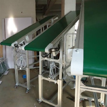 广州电子流水线设备工业组装生产线自动化皮带输送线