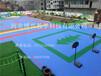 悬浮地板排球场悬浮地板