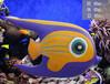 玻璃钢仿真海洋雕塑海洋鱼类雕塑海洋馆雕塑景区公园园?#36136;?#33026;摆件