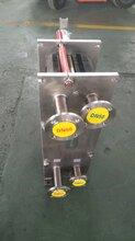浙江金华义乌市泡池泳池加温换热器碳酸饮料加温换热器树脂冷却板式换热器食品双段式板式换热器