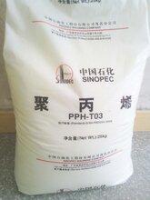 茂名石化/PP聚丙烯K8303/塑料原料高抗冲PP低流量共聚注塑料