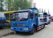 国五单桥平板拖车厂家东风多利卡平板拖车价格