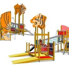 北京同兴伟业直销多功能木制攀爬架,户外儿童攀爬网,攀爬滑梯