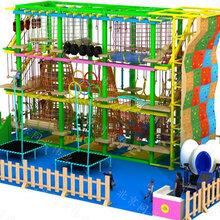 北京同兴伟业直销儿童高空拓展训练、海洋球池、科技馆设备、攀岩墙、淘气堡图片
