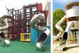 戶外整體規劃設計、多功能爬網、滑梯、秋千、異型鉆洞、樹樁攀巖