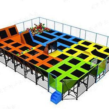 厂家大型蹦床乐园组合滑梯攀爬体能拓展训练非标不锈钢滑梯