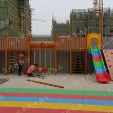 儿童组合滑梯生态幼儿园滑梯户外公园拓展滑梯无动力游乐设施厂家直销定做