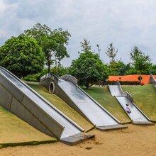 室内外公园儿童滑梯小区滑滑梯幼儿园木质滑梯大型不锈钢滑梯游乐设备