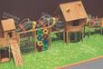 室內兒童游樂設備制作新款木制滑梯源頭廠家大型兒童塑料滑梯兒童體能拓展訓練