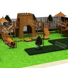 广场不锈钢滑梯木质组合滑梯源头厂家儿童玩具滑梯室内攀岩墙定制