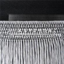 厂家直销花式流苏花边窗帘服装辅料白色量大从优欢迎来电