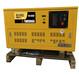 翰丝生产静音三相汽油发电机15千瓦