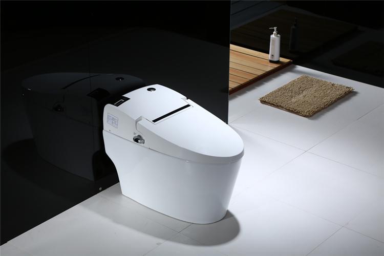 潮州三奇花卫浴智能抽水马桶带妇洗自动加热储热智能