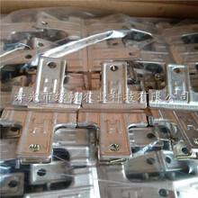 供应大棚二膜专用铁夹山形夹镀锌铁夹子4cm双头铆铁夹子图片