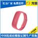 镇江彩色手环腕带厂家定制_ODM代工硅胶连体手环质量比较好