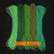厂家直销荧光绳尼龙荧光绳彩色荧光绳彩色伞绳