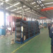青岛大倾角输送带,钢丝绳输送带青岛输送带厂家图片