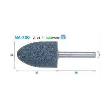 日本FSK轴付砥石工业磨头:MA-720