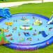 四川暑期水上乐园大型游艺玩具大滑梯支架水池水滑梯游泳池