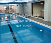 健身房专用泳池健身会所泳池造价图片
