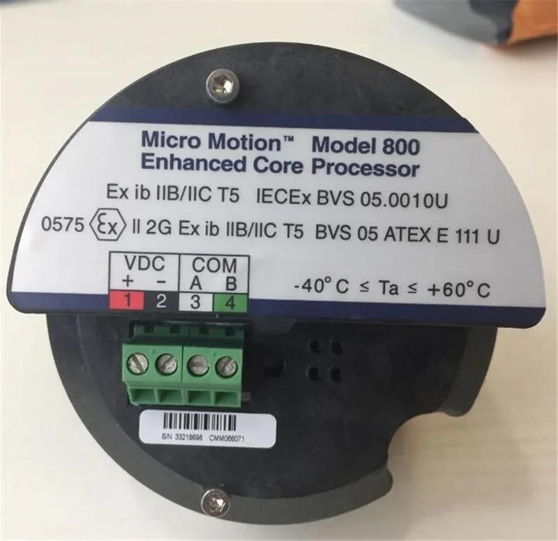 艾默生增强型核心处理器model800适用于质量流量计