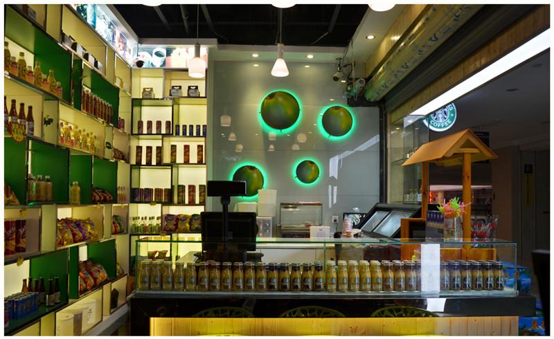 成都零食店装修设计成都零食店设计公司