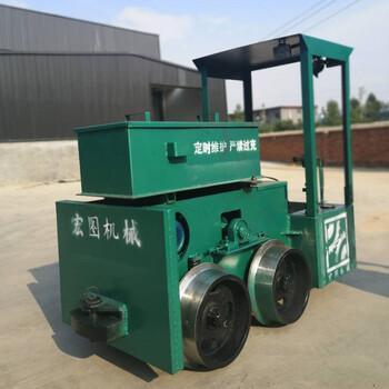 六盘水蓄电池电机车2吨电机车厂家防爆蓄电池电机车