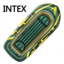 橡皮艇海鹰INTEX加厚4人橡皮艇