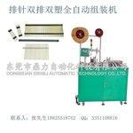 供应高品质排针双排双塑自动插针组装机东莞鼎力非标自动化设备