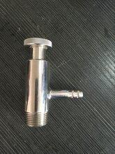 取样阀先宇供应不锈钢卫生级螺纹采样阀DN15温州采样阀图片
