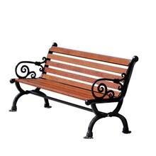 宿遷塑木公園椅供應商圖片