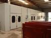 寧夏靈武市標準烤漆房加裝環保設備