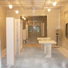 甘肅華池噴漆房加裝環保設備圖片