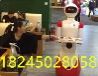 科大讯飞技术餐饮业智能迎宾送餐机器人