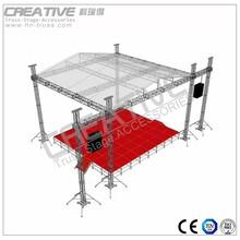 科瑞得铝合金桁架300300舞台桁架灯光架演出桁架truss架图片