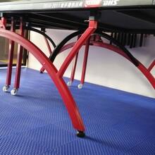 红双喜T2828乒乓球台折叠移动式乒乓球台图片